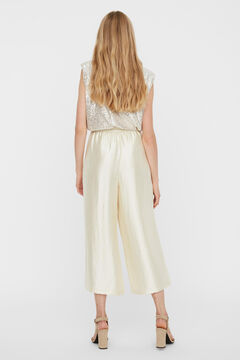 Cortefiel Flowing culottes Stone