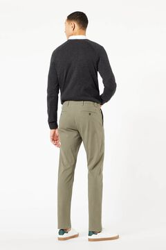 Cortefiel Chino slim Dockers® trousers with Smart 360 Flex™ Dark gray