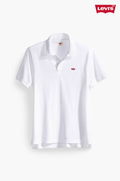 Cortefiel Polo Levi's® logo chest White