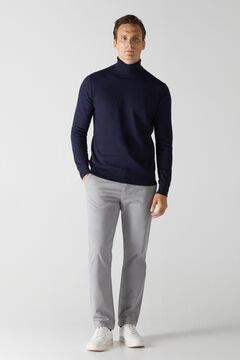 Cortefiel Essential regular fit chinos Gray