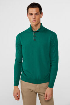Cortefiel Turtleneck jumper  Pistachio green