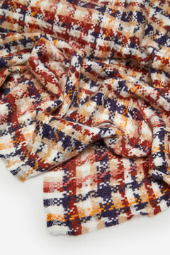 Cortefiel Multicoloured thick scarf Printed