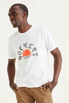 Cortefiel Dockers® KNITS - SS TEES Branco