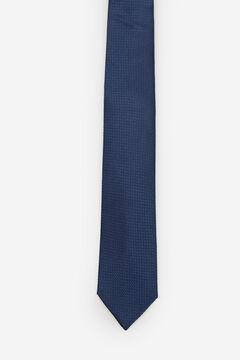 Cortefiel Textured tie Navy