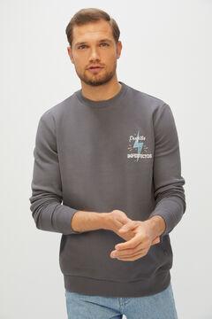 Cortefiel Camiseta solidaria fundación cadete Gray