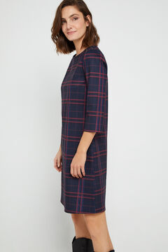 Cortefiel Yoke tunic dress Printed