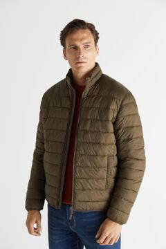 Cortefiel Ultralight thermolite jacket Green
