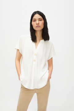 Cortefiel Comfort blouse White