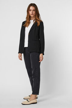 Cortefiel Essential blazer Black