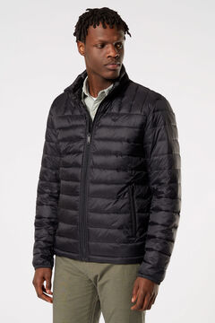 Cortefiel Ultralight jacket Black
