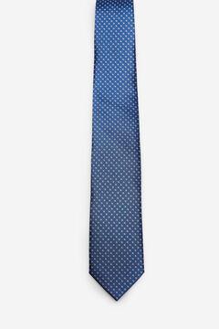 Cortefiel Polka-dot tie Turquoise
