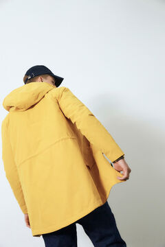 Cortefiel Sustainable parka Tobaco