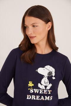 Cortefiel Peanuts t-shirt  Navy
