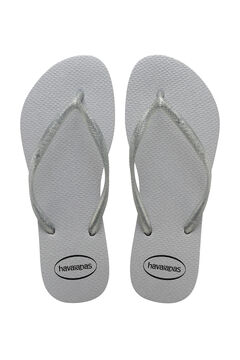 Cortefiel SLIM GLOSS kids flip-flops Gray