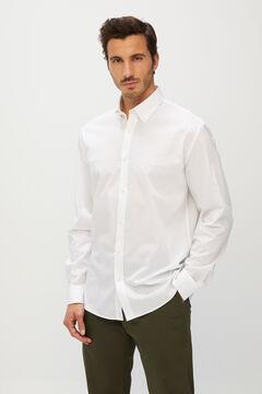 Cortefiel Men's dress shirt White