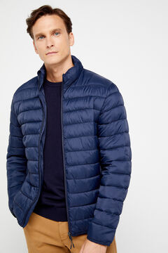 Cortefiel Ultralight jacket with THERMOLITE Navy