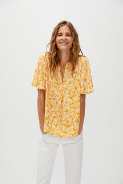 Cortefiel Flowing blouse  Yellow