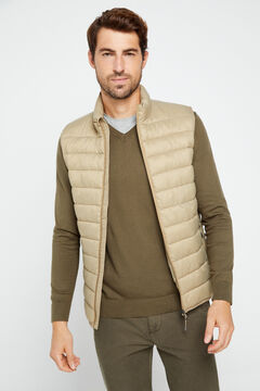 Cortefiel Ultralight thermolite gilet Khaki