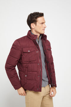 Cortefiel Urbanlight jacket with Thermolite Eco Fuchsia