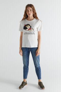 Cortefiel Mafalda T-shirt White