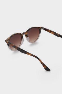 Cortefiel Gafas de sol redondas Marrón