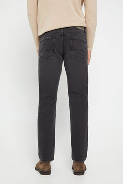 Cortefiel Black slim fit jeans Black