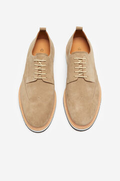 Cortefiel Lace-up shoe Camel