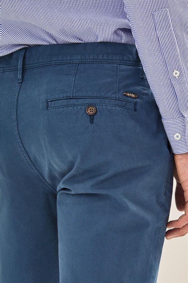 Cortefiel Pantalón chino regular Azul d5710f6a5ea