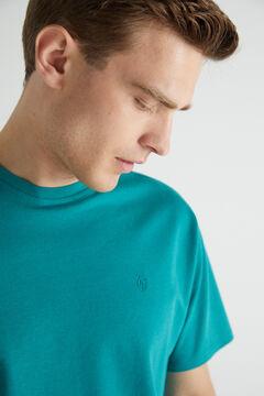 Cortefiel Short-sleeved T-shirt Green