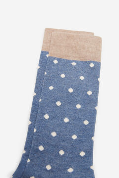 Cortefiel Polka dot socks Bluejeans