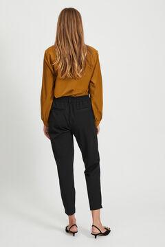 Cortefiel Chino trousers Black