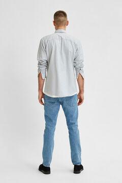 Cortefiel Slim fit shirt Pistachiogreen