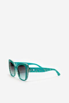 Cortefiel  Gafas de sol Shiny con glitter Starlite Burgundy