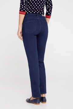 Cortefiel Regular fit sustainable wash jeans Royal blue