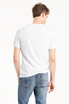 Cortefiel Classic Levi's® t-shirt with logo in the middle White