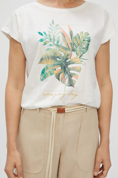 Cortefiel Printed T-shirt Printed