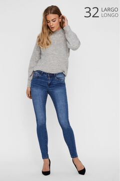 Cortefiel Organic cotton jeans Royal blue