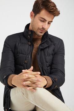 Cortefiel Urbanlight jacket with Thermolite Eco  Black