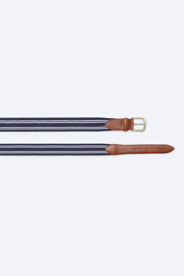 63b7cf00284 Cortefiel Cinturón cinta elástico Azul