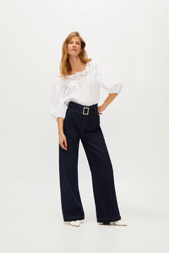 Cortefiel Palazzo fit jeans Blue jeans