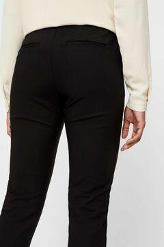 Cortefiel Pantalón slim fit Negro