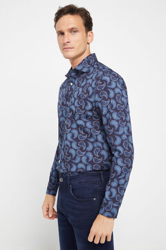 Cortefiel Printed shirt Kaki