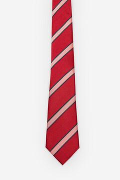 Cortefiel Corbata rayas Rojo
