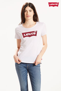 Cortefiel Short-sleeved Levi's® T-shirt with logo White