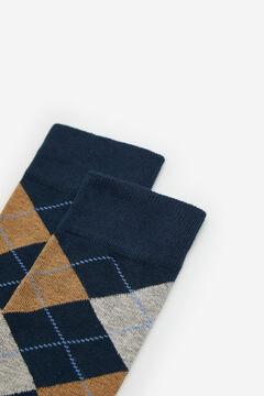 Cortefiel Diamond socks Navy