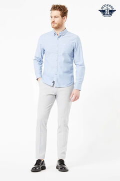 Cortefiel Camisa Dockers® slim fit Oxford en Supreme Flex™ Azul