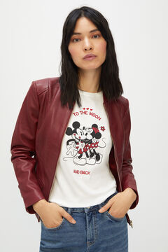 Cortefiel Mickey Mouse top  White