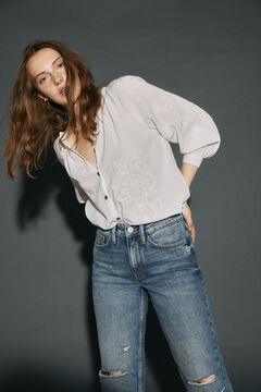 Cortefiel Boyfriend fit jeans Bluejeans