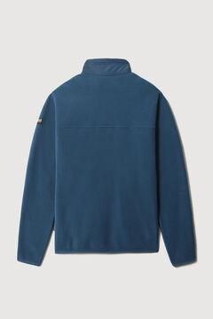 Cortefiel Napapijri TAMIX FZ fleece sweatshirt Bordeaux