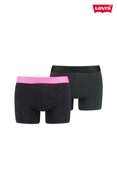 Cortefiel 2-pack neon slub jersey-knit Levi's® boxers Pink